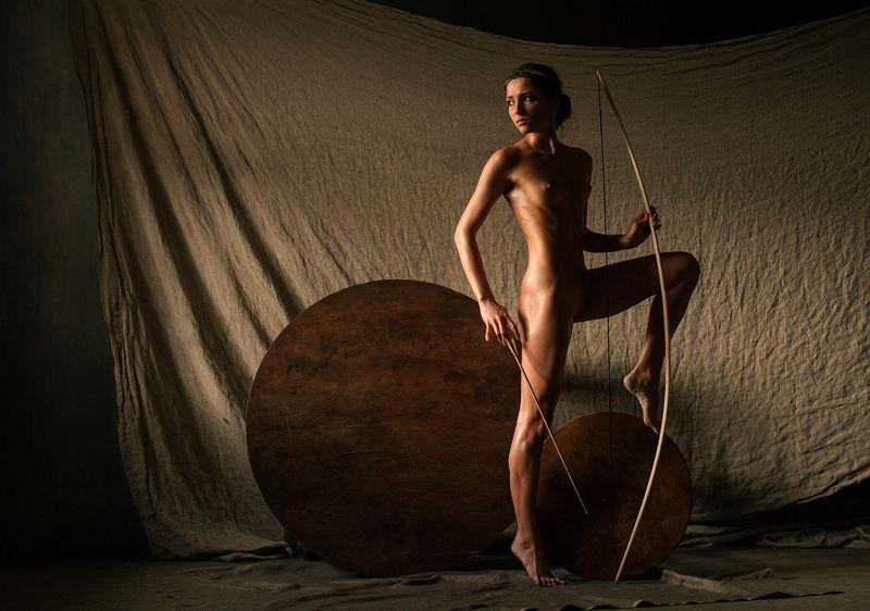 fine, art, nude Этюд с луком (продолжение)photo preview