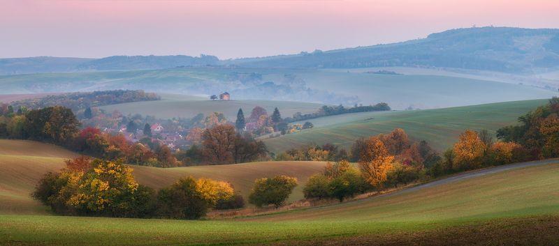 пейзаж, осень, моравия Осенние темы Южной Моравии...photo preview