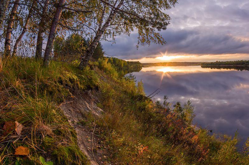 осень на обрывеphoto preview