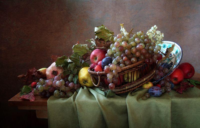 натюрморт,фрукты, марина филатова Натюрморт с фруктамиphoto preview