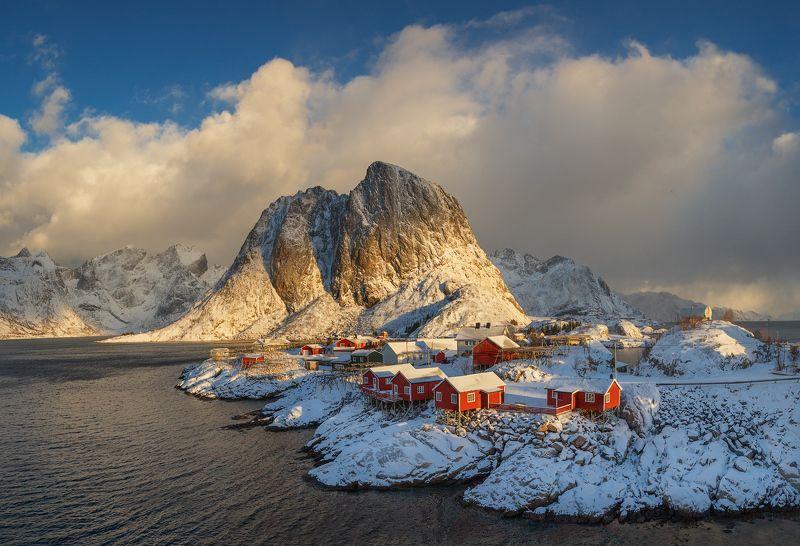 норвегия, лофотены, norway, lofoten, Полярный свет.photo preview