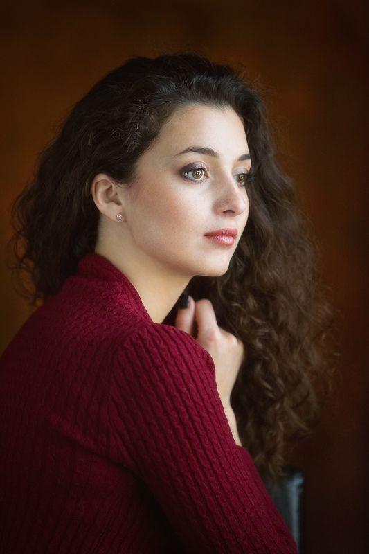 портрет, девушка Ксенияphoto preview