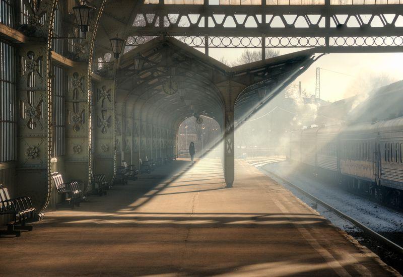 витебский вокзал. санкт-петребург ***photo preview