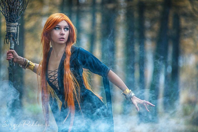 осень, девушка, красота, рехов, сергейрехов, rekhov, sergejrekhov Рыжая осеньphoto preview