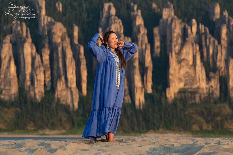 якутия, река лена, ленские столбы, хомус Песня Ленских столбов.photo preview