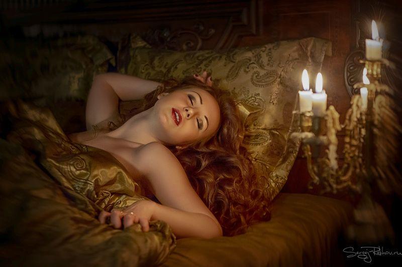 наслаждение, ночь, девушка, эротика, рехов, сергейрехов В огнедышащей лаве любви...photo preview