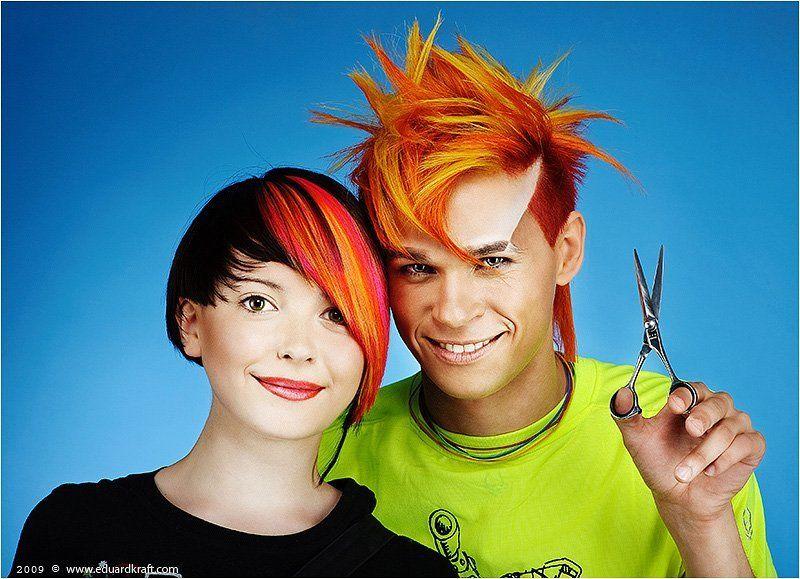 прически, стрижки, краска для волос Wella trend vision 2009photo preview