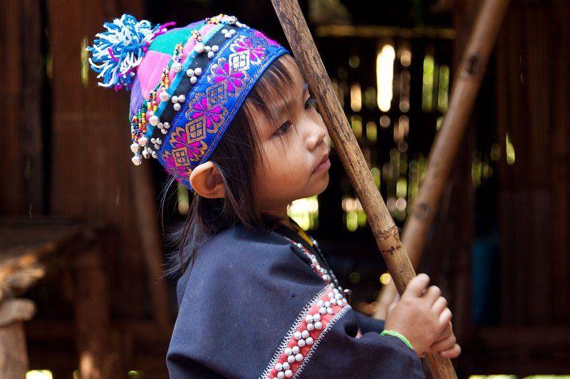 карены, таиланд, племя, длиноше Кареныphoto preview