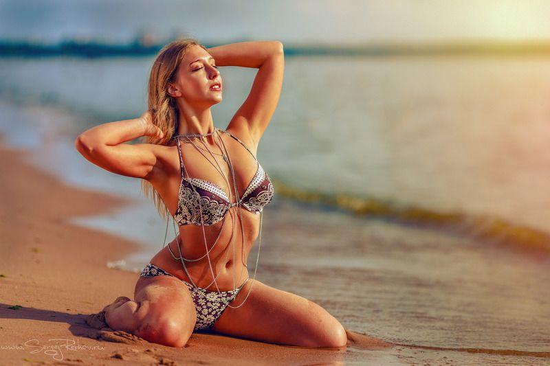пляж, солнце, финский залив, море, лето, рехов, сергейрехов, rekhov, sergejrekhov Дарьяphoto preview
