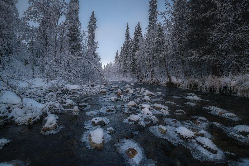 север, кольский, хибины, ноябрь, умболка, Умболка.photo preview