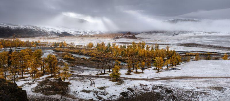 алтай, горы, осень Чаган-Узунphoto preview