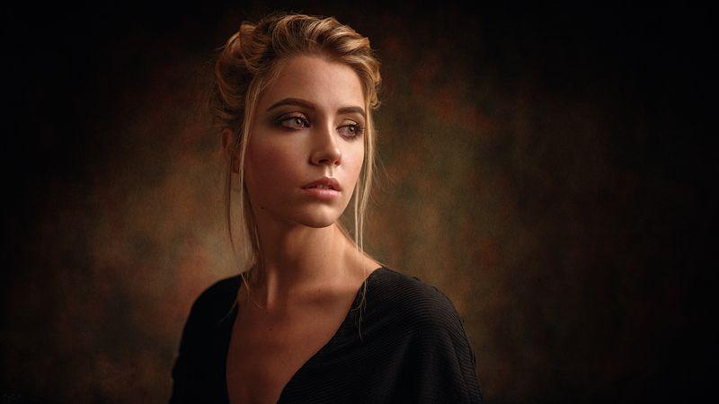 портрет, модель, portrait, model Ксенияphoto preview