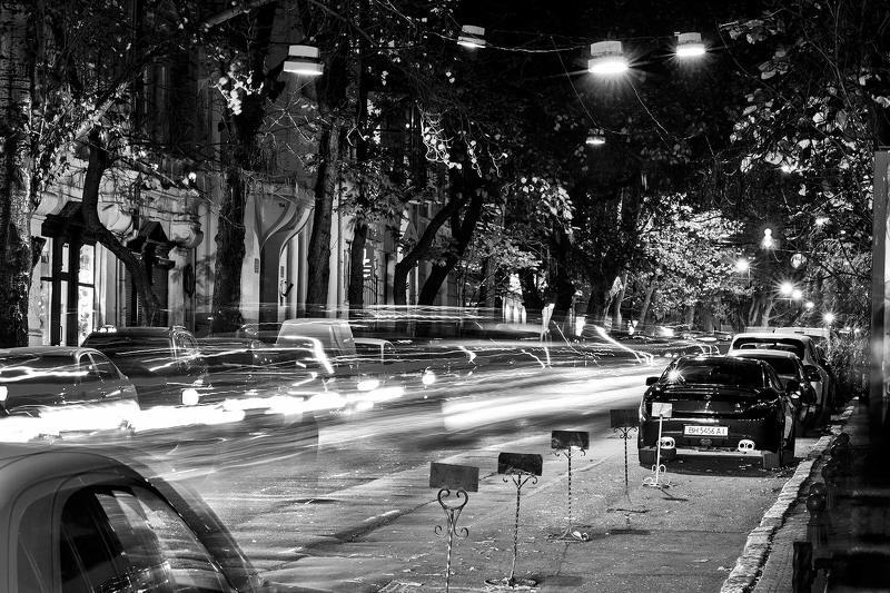 Одесса, ночь, стрит Час пик...photo preview