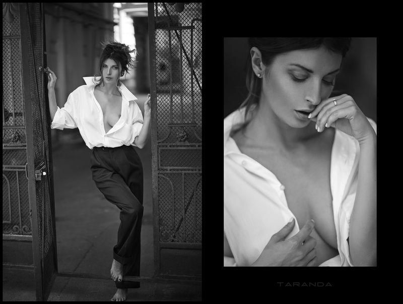 girl, kiev, ukraine, street, portrait, sweet, light, sexy, beauty, retro, nude, suit, bw photo preview