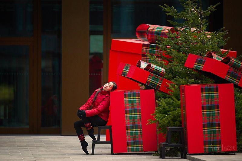 ballerina, dance, dancing, portrait, street, outdoor Рождество за угломphoto preview