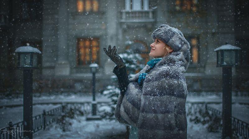 зима, метель, питер, санкт-петербург, снег, снегопад, рехов, сергейрехов Петербурженкаphoto preview