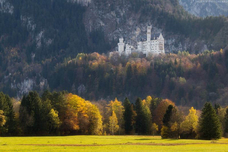 Германия, осень, пейзаж, Germany, Bavaria, landscape,autumn Осень в Баварииphoto preview