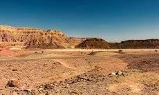 Скалистая долина парка Тимна...