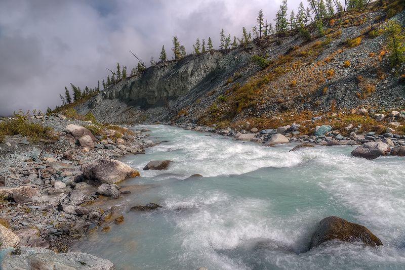 горная_река,горный_алтай,река_аккем Вниз по течениюphoto preview