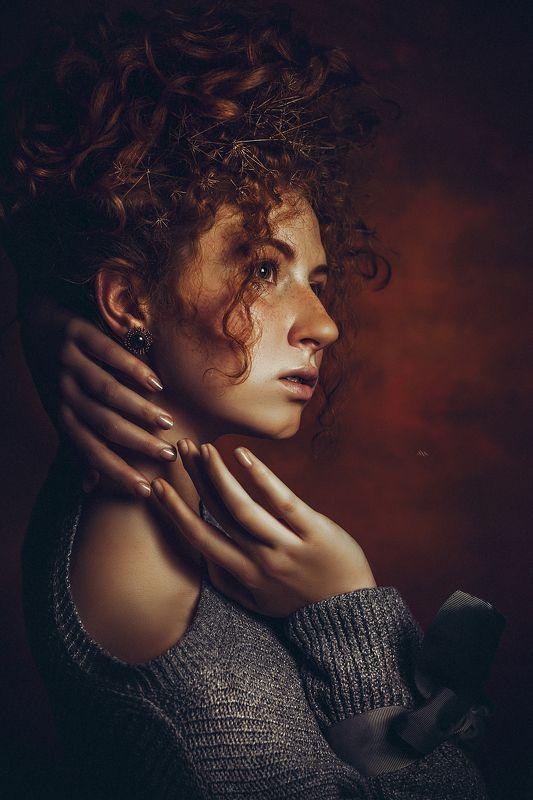 woman, portrait, studio, art, beauty, redhead Born a redheadphoto preview