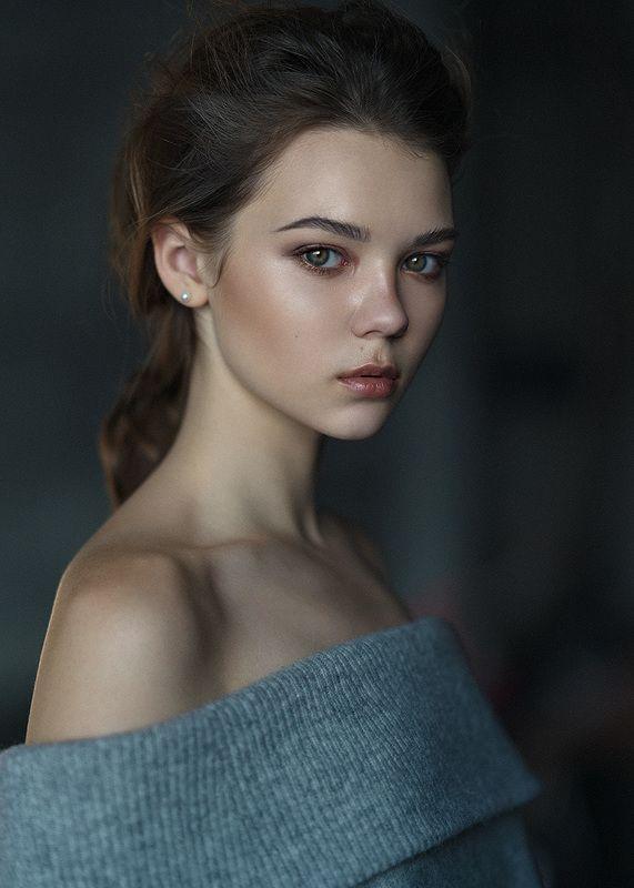 portrait, girl, eyes, Allaphoto preview