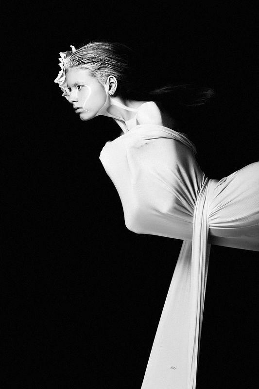 concept, studio, portrait, black and white The Phantom of the Operaphoto preview