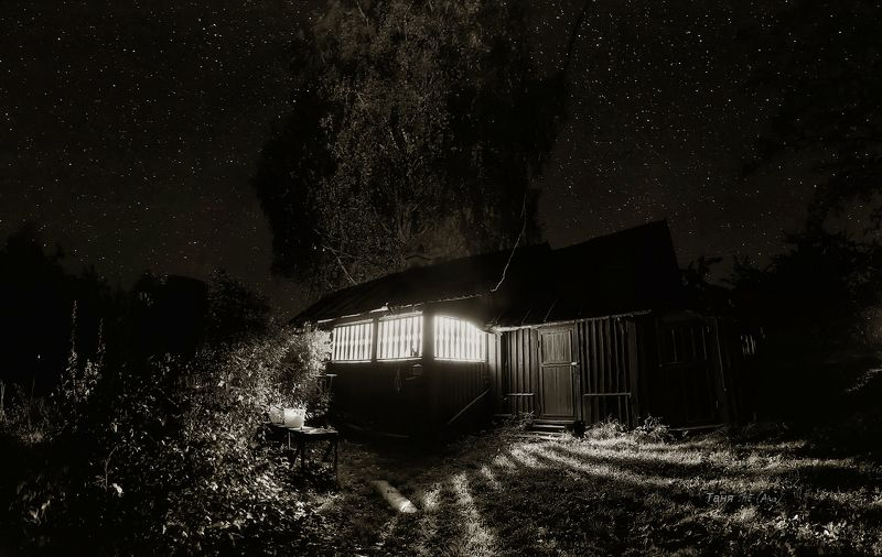 леноблась, питер,деревня, ночь И сверчок;)photo preview