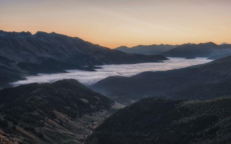 Скоро восход...photo preview