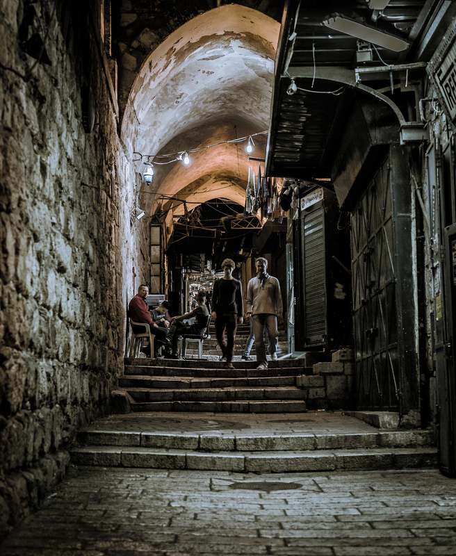 Ночной Иерусалим.photo preview