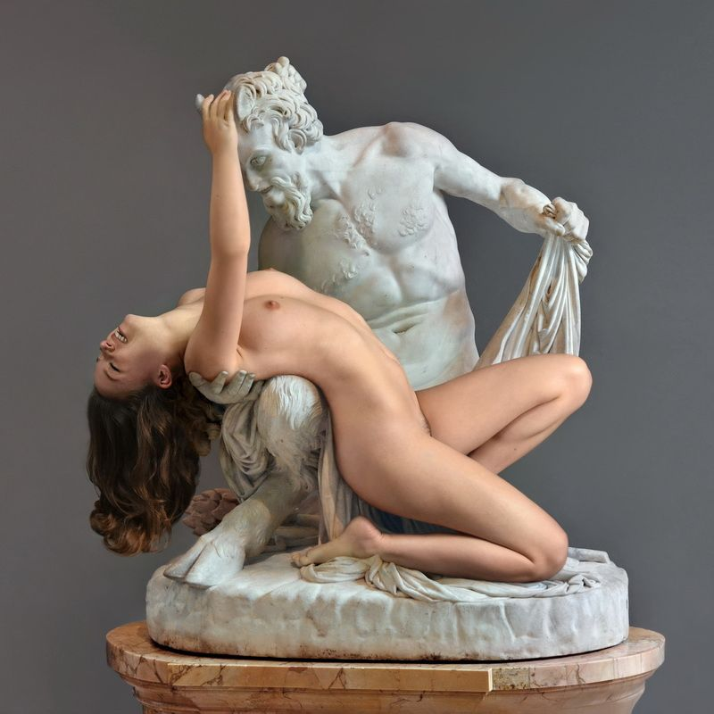 sculpture, art, museum, marble, stone, girl, nude, model, posing, alive, paris, myth, greek, louvre, Мрамор XVIIphoto preview