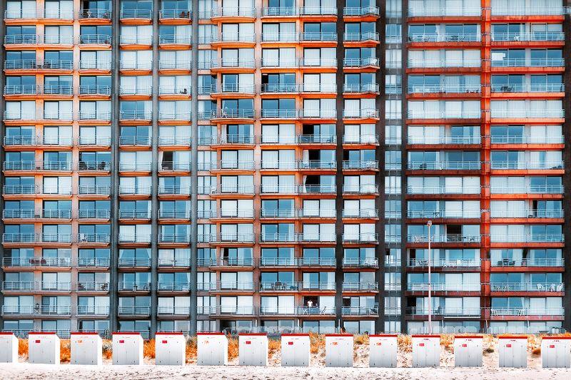 пляж, дом, пляжные домики, человек, один дома, абстракция, *Один дома*photo preview