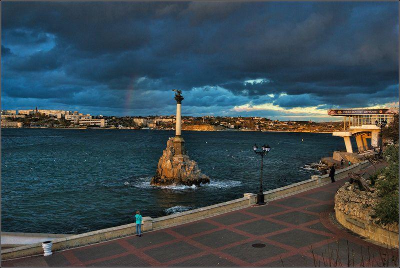 крым, севастополь Памятник затопленным кораблямphoto preview