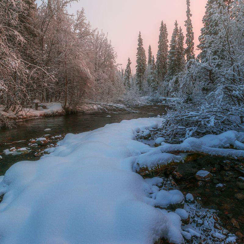умболка, север, кольский, ноябрь, хибины *photo preview
