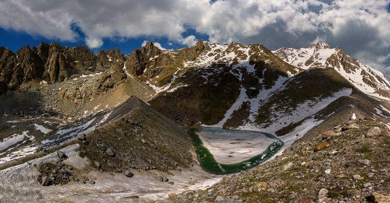 горы, озеро Живое озеро...photo preview