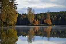 Осенний остров....