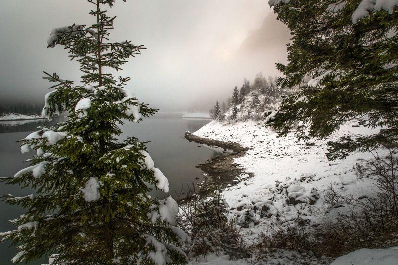 австрия газаузее Туманное утроphoto preview
