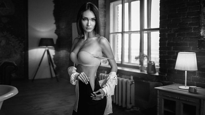 портрет, модель, portrait, model, гламур Ксенияphoto preview