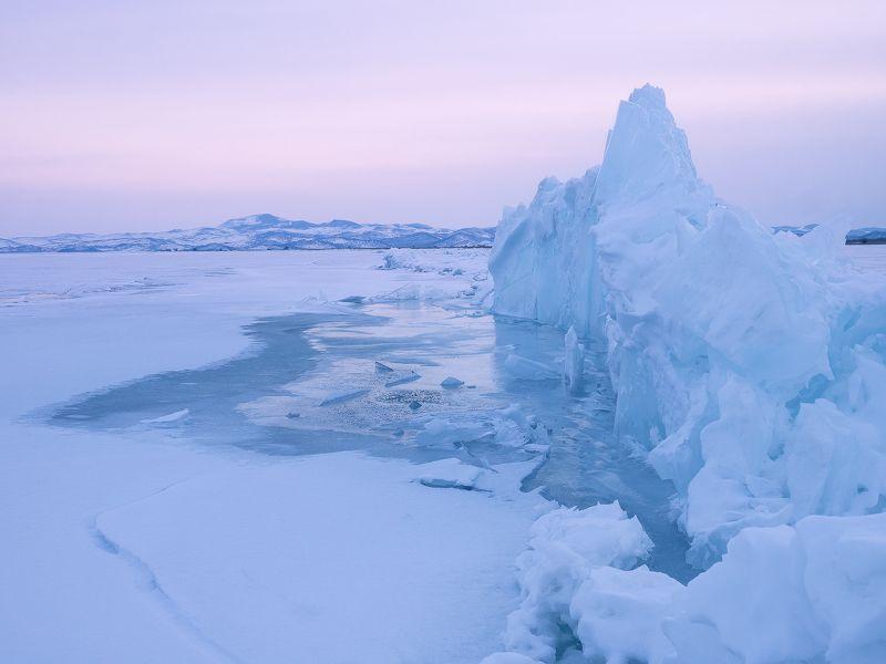 ...Лёд и снег Байкала...photo preview