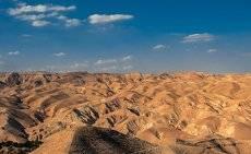Иудейская пустыня Вади кельт...