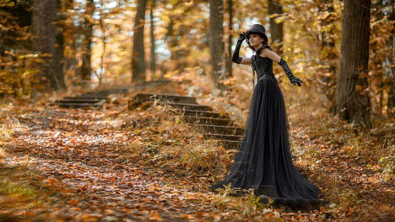 осень, парк, девушка, рехов, СергейРехов, rekhov, sergejrekhov Осень, она не спросит, осень, она придёт...photo preview