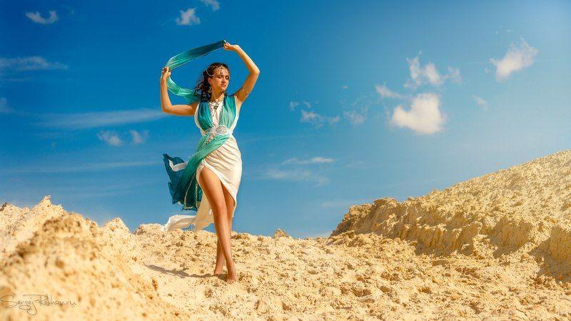 пески, пустыня, девушка, модель, солнечно, рехов, сергейрехов, rekhov, sergejrekhov В пескахphoto preview