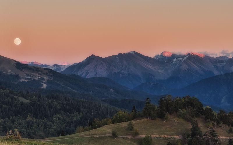 Восход на закате...photo preview