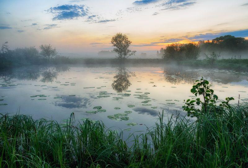 утреннее озероphoto preview