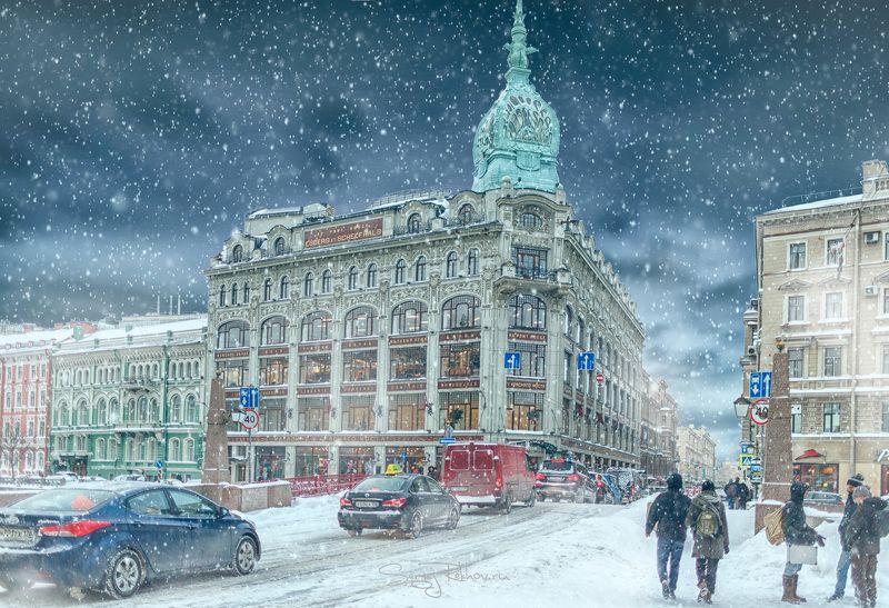 питер, санкт-петербург, зима, мороз, рехов, сергейрехов, rekhov, sergejrekhov Прогулка по зимнему Петербургуphoto preview