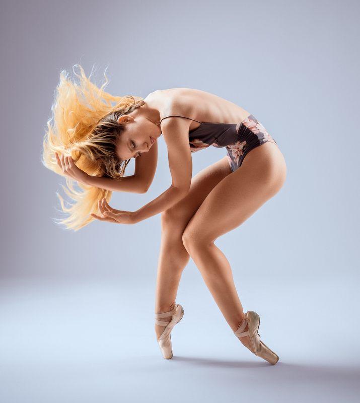 girl, female, pretty, portrait, blonde, studio, ballet, ballerina, dancer Dancerphoto preview