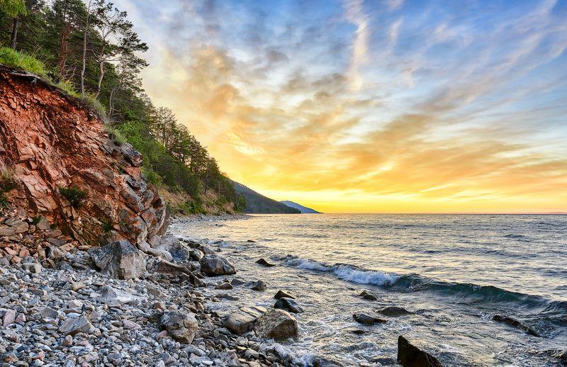 Июльский рассвет на Байкалеphoto preview