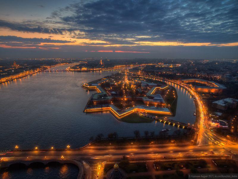 Петербург с высоты птичьего полёта...photo preview