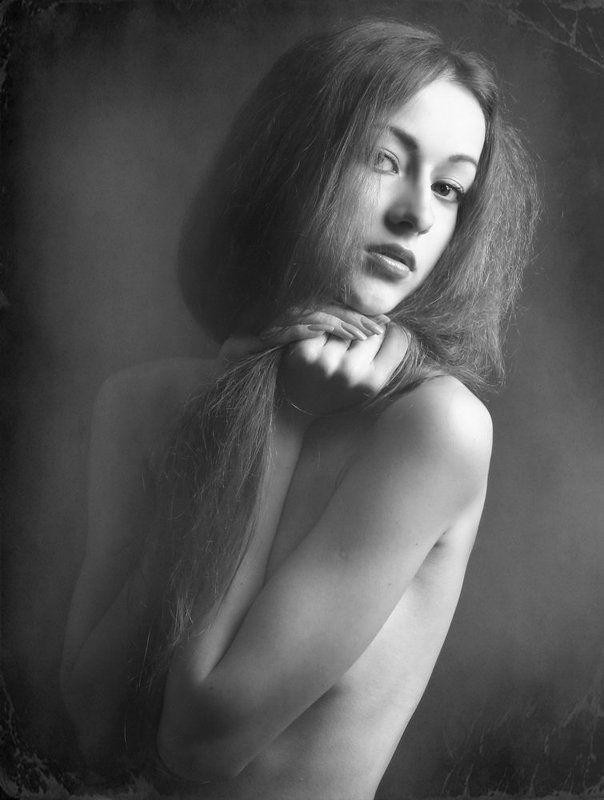 девушка, портрет утроphoto preview
