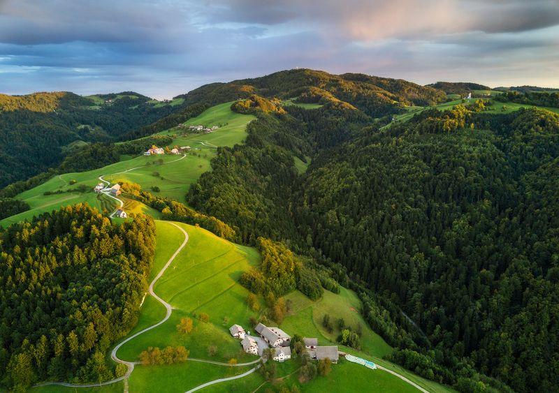 slovenia, sunrise, spring, twilight, словения, утро, рассвет Словенское утроphoto preview