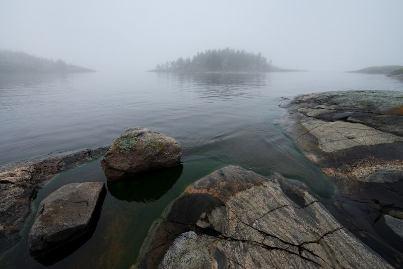 На Ладоге туман...photo preview